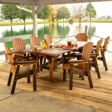 Amish Patio Sets