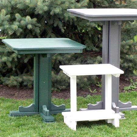 Amish Patio Tables
