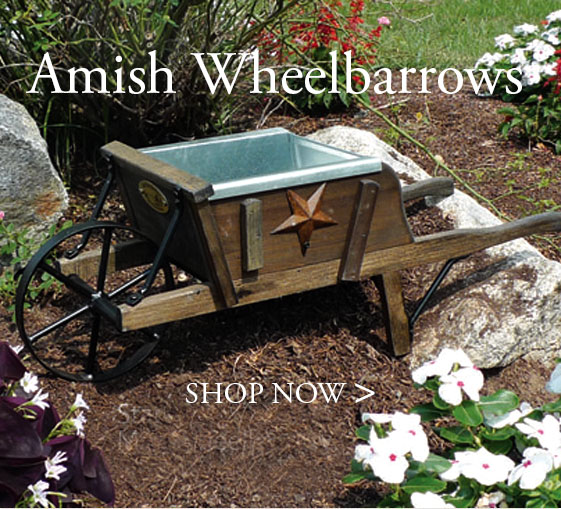 Amish Wheelbarrows