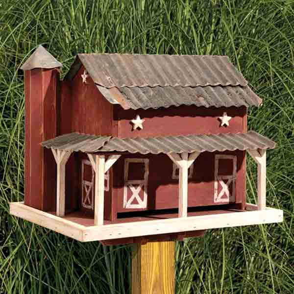 Amish Birdhouses and Feeders