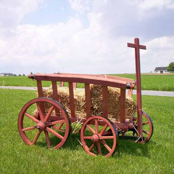 Amish Carts, Wagons, and Sleighs