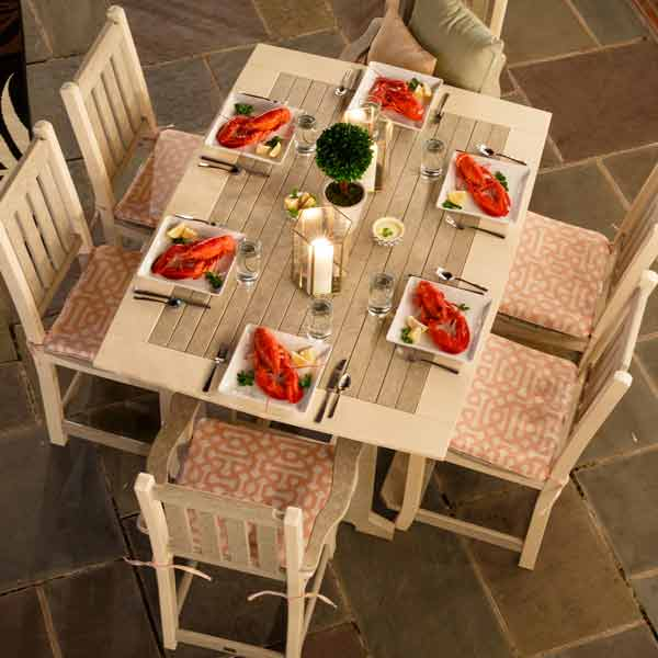 Amish Patio Dining Tables