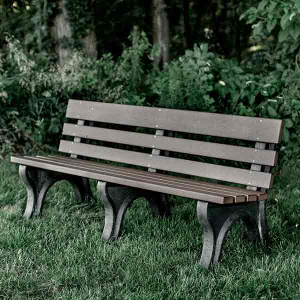 Amish Park Benches