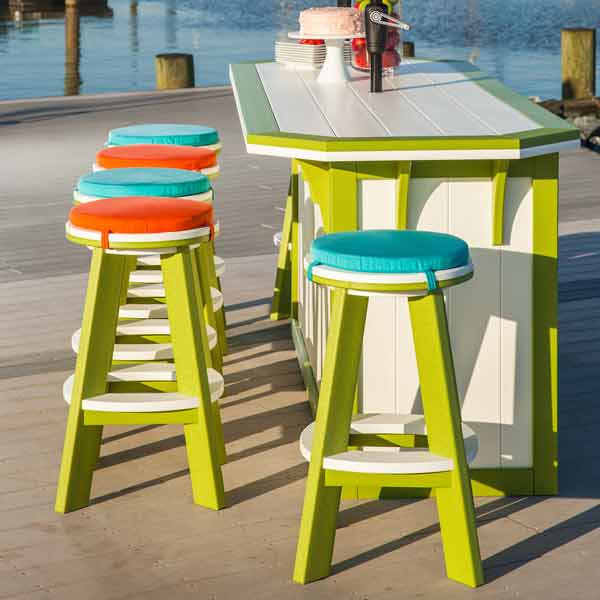 Amish Patio Bar Stools & Pub Chairs