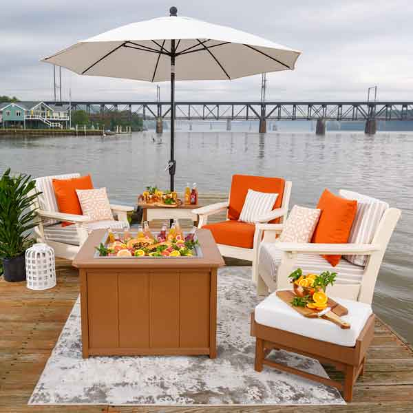 Amish Patio Deep Seating Chairs