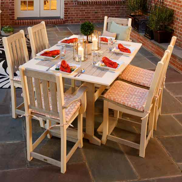 Amish Patio Dining Chairs