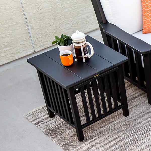 Amish Patio Side Tables